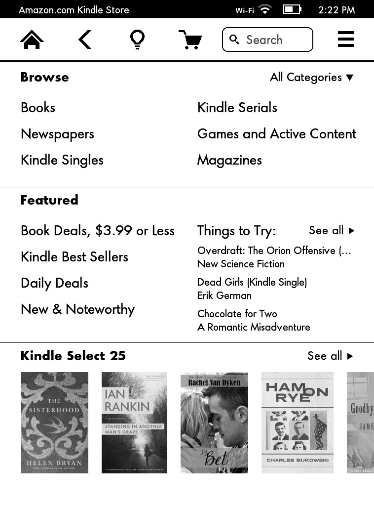can you buy kindle books on iphone