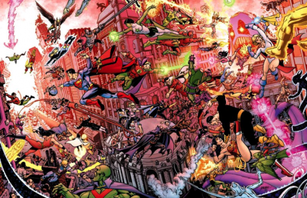 Crisis on Infinite Earths FEAT