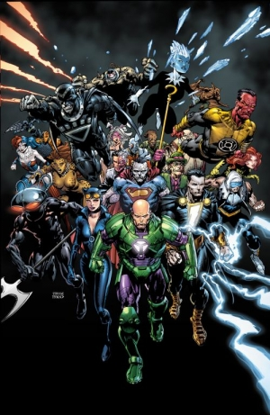 DC's Forever Evil event, spotlighting the Crime Syndicate, is representative of the cynical tone evident in much of the publisher's output.