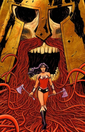 Azzarello and Chiang's Wonder Woman continues to be a bright spot in the New 52 lineup.