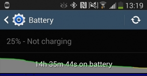 Samsung Galaxy Note 3 - Battery Life 01